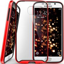 CaseologyCaseology Waterfall Series BaksideSkal till Samsung Galaxy S6 - Röd