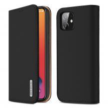 Dux DucisDUX DUCIS Äkta Läder Plånboksfodral iPhone 12 & 12 Pro - Svart