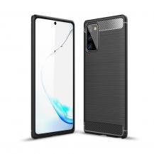 OEMCarbon TPU Skal Till Galaxy Note 20 - Svart