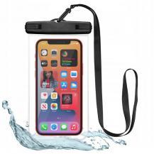 SpigenUniversal Waterproof Case - Svart/Clear