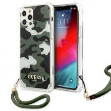 GuessGuess Skal iPhone 12 / 12 Pro Camo Collection - Grön
