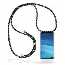 CoveredGear-NecklaceCoveredGear Necklace Case Samsung Galaxy S10 Plus - Green Camo Cord
