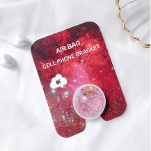 OEMLiquid Glitter Ringhållare till Mobiltelefon - Rosa