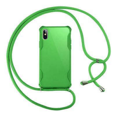 CoveredGear Necklace Case iPhone XS/X - Grön