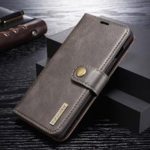DG.MINGDG.MING Plånboksfodral 2-i-1 Split för Samsung Galaxy S10 - Grå