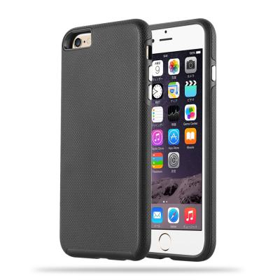 Shockproof Combo Skal till Apple iPhone 6 / 6S (Svart)