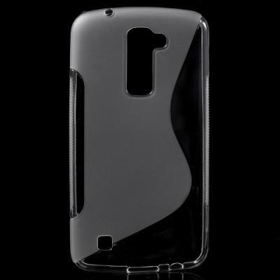 S-Curve Mobilskal till LG K10 - Transparent