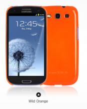 RearthRingke Slim till Samsung Galaxy S3 i9300 (Orange) + Skärmskydd