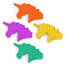 Fidget ToysPop it Fidget Toy - Flera Färger & Modeller - Enhörning - Blandade Färger