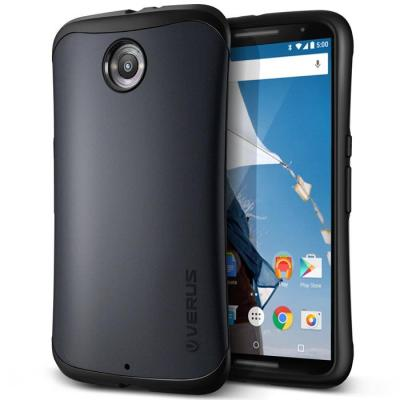 Verus Hard Drop Skal till Google Nexus 6 - Svart