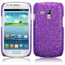TerrapinBling Bling Skal till Samsung Galaxy S3 mini i8190 (Lila)