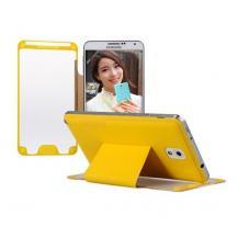 BASEUSBASEUS flip fodral till Samsung Galaxy Note 3 N9000 (Gul)