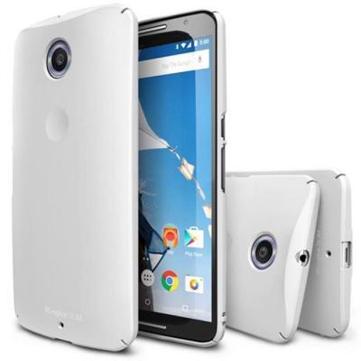 Ringke Slim Skal till Google Nexus 6 - Vit