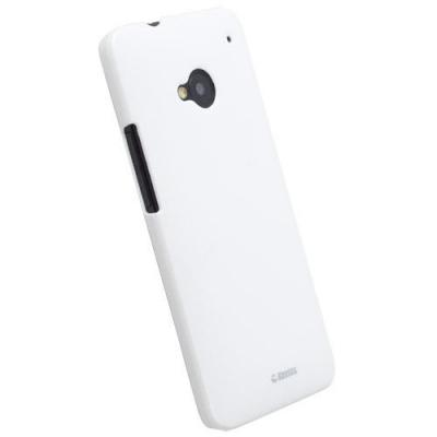 Krusell ColorCoverBaksideskal till HTC One (M7) (Vit)