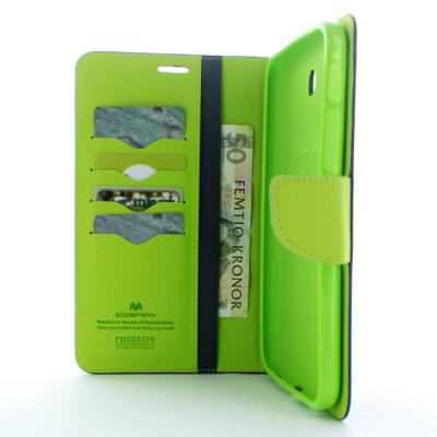 Mercury Fancy Diary Plånboksfodral till Samsung Galaxy Tab 3 7,0 (Blå)