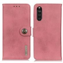 KHAZNEHKhanzeh - Plånboksfodral Sony Xperia 10 III - Rosa