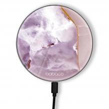 BabacoTrådlös laddare 10W Premiumglas Abstract 009