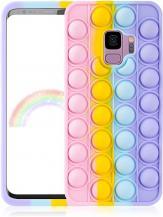 Fidget ToysPop it Fidget Skal till Samsung Galaxy S9 - MultiColor