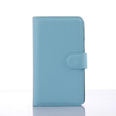 Plånboksfodral till Sony Xperia E4g - Ljusblå