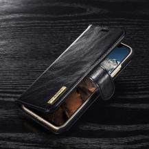 DG.MINGDG.MING Detachable Plånboksfodral till iPhone XS / X - Svart