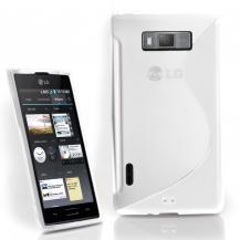 A-One BrandFlexiCase Skal till LG Optimus L7 - P700 - (Vit)