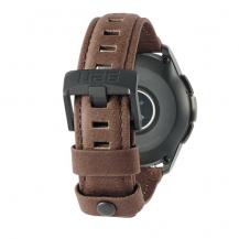 UAGUAG Samsung Galaxy Watch Leather Strap 42mm - Brown