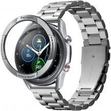 SpigenSpigen - Chrono Shield Galaxy Watch 3 45mm - Silver