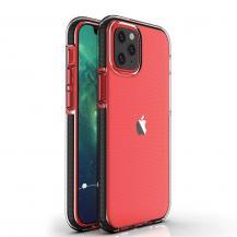 HurtelSpring Case iPhone 12/12 Pro skal Svart