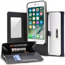 RearthRingke Wallet till iPhone 7/8 Plus - ( Vit - Blå)