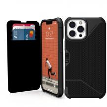 UAGUAG iPhone 13 Pro Max Metropolis plånboksfodral - Svart