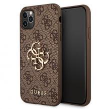 GuessGUESS Skal iPhone 11 Pro Metal Logo - Brun