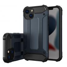 HurtelHybrid Armor Tough Rugged Skal iPhone 13 mini - Blå