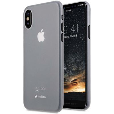 Melkco Air PP Mobilskal iPhone X - Transparent