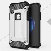 A-One BrandHybrid Armor Mobilskal till Apple iPhone XS / X - Silver