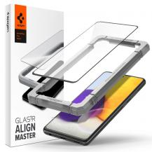 SpigenSpigen - ALM FC Härdat Glas Galaxy A52/A52S 5g - Svart
