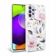 Tech-ProtectTech Protect - Floral Mobilskal Galaxy A52 5G - Vit