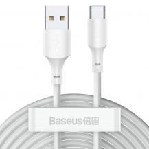 BASEUSBaseus 2x USB Type C lightning Kabel 40 W 5 A 1,5 m Vit