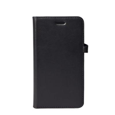 GEAR Buffalo äkta läder Plånboksfodral iPhone XR - Svart