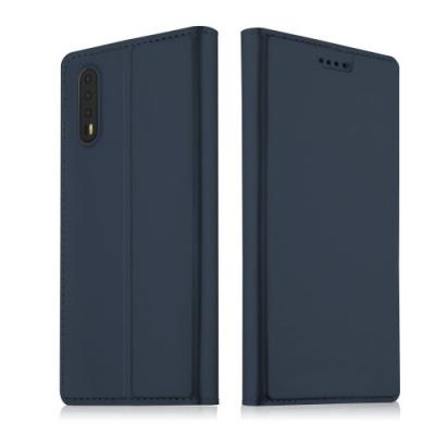 Auto-absorbed Plånboksfodral till Huawei P20 - Blå