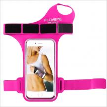 FlovemeFloveme Universal Sportarmband för 5.5-tums Smartphones - Magenta