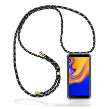 CoveredGear-NecklaceCoveredGear Necklace Case Samsung Galaxy J4 Plus - Green Camo Cord
