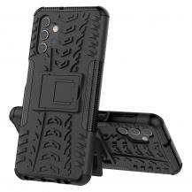 A-One BrandTyre Kick-Stand Mobilskal Galaxy A32 5G - Svart