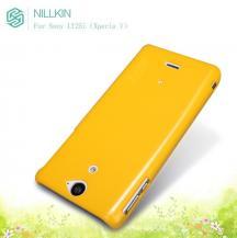 NillkinNillkin Multi-colorBaksideskal till Sony Xperia V LT25i (Gul) + Skärmskydd
