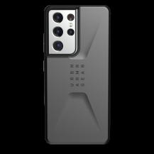 UAGUAG Samsung Galaxy S21 Ultra Civil-Fodral Silver