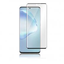 PanzerPanzer - Curved Glass Samsung Galaxy S20 Ultra - Svart