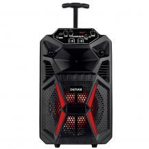 """DenverDenver 8"""" Bluetooth trolley speaker with LED-lights"""