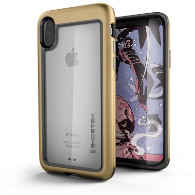 Ghostek Atmoic Slim Skal till Apple iPhone XS / X - Gold