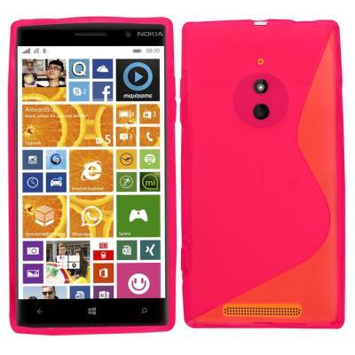 S-Line Flexicase Skal till Nokia Lumia 830 (Magenta)
