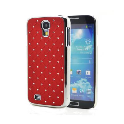Diamante skal till Samsung Galaxy S4 i9500 - (Röd)