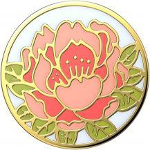 PopSocketsPOPSOCKETS Enamel Blooming Peony Pink Avtagbart Grip